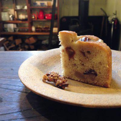 栗とプラリネのパウンドケーキ