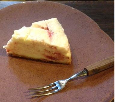 ゴロッといちごのチーズケーキ